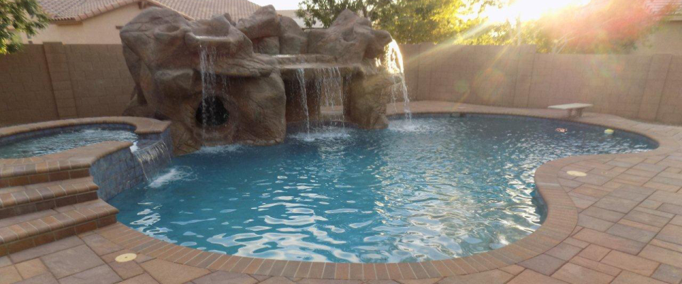 Owner builder swimming pools teaching arizona residents for Build your pool